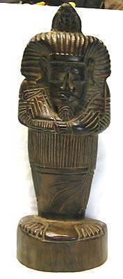 Home decoration, egyptian statue