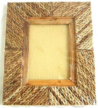 Rectangular wooden photo frame holding inches for Craft picture frames bulk