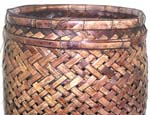 Brown retan blade multi-purpose large basket