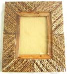 Rectangular wooden photo frame