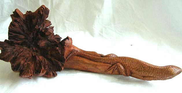 authentic balinese parasite wooden handmade arts