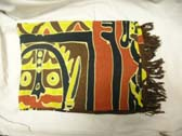 African art inspired design on bali batik beach sarong skirt  from online boutique express factory dealer