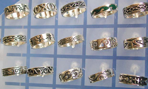 Wholesale 925 silver jewelry sterling, sterling silver ring with carved