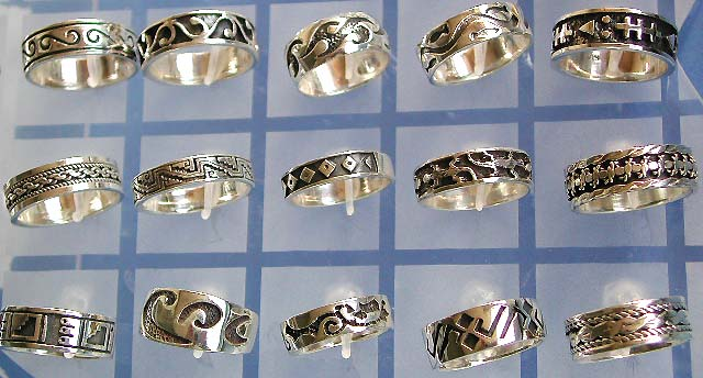 a1391f29c wholesale thailand silver jewelry, Thai sterling silver thumb ring and  stack ring jewelry in 925