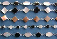 mother of pearl jewelry, semi precious gem stone black onyx jewelry  wholesale lot