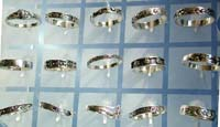 Unique jewelry supply, silver jewelry store wholesale thin band sterling ring