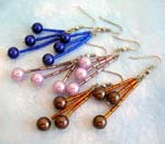 wholesale earring and dangle earrings for pierced ear, imitation pearl earring wholesale supply