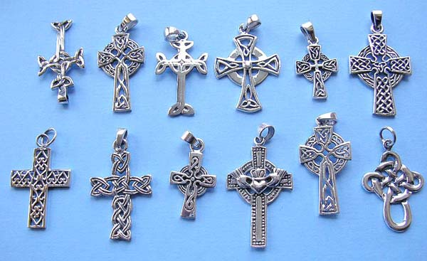 Wholesale celtic jewelry celtic cross pendant in 925 sterling wholesale celtic jewelry celtic cross pendant in 925 sterling silver setting aloadofball Images