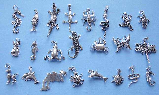 Wholesale animal jewelry 925 sterling silver pendant in assorted wholesale animal jewelry 925 sterling silver pendant in assorted animal design mozeypictures Image collections