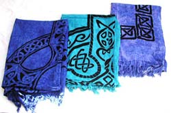 Sarong Wholesale - Celtic tattoo hip hop design sarong